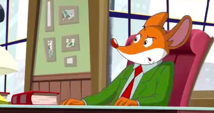 老鼠记者动画片免费使用!英语趣配音下载!