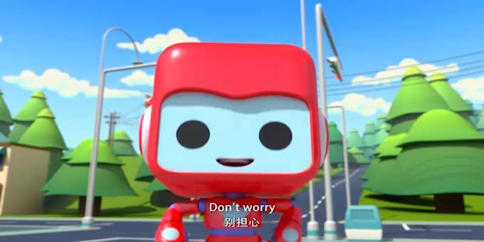 百变布鲁可动画片免费!百变布鲁可配音学英语!