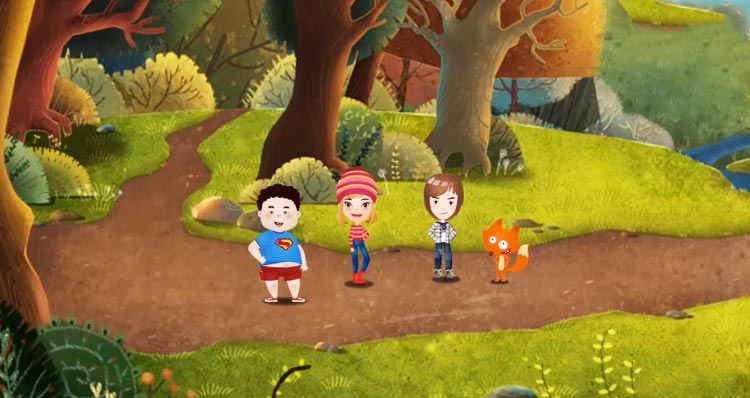 狐狸快跑动画观看,动画配音学英语
