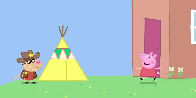 小猪佩奇动画片全集,小猪佩奇英语配音